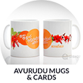 Avurudu Mugs and Cards