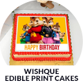 WishQue Edible Print Cakes