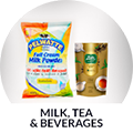 Milk, Tea & Beverages
