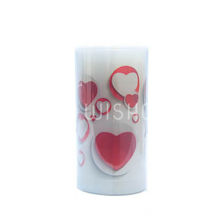 True Love Heart Candle