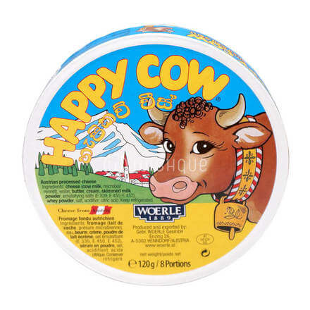 Happy Cow Cheese 8 Portions