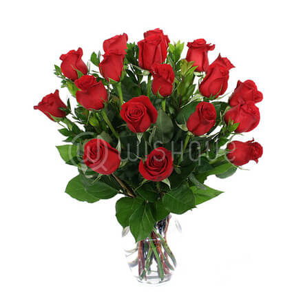 Breathless Rose Vase