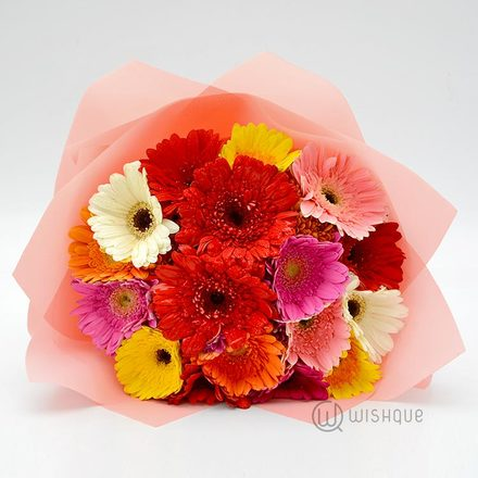 Crazy For You Gerbera Bouquet