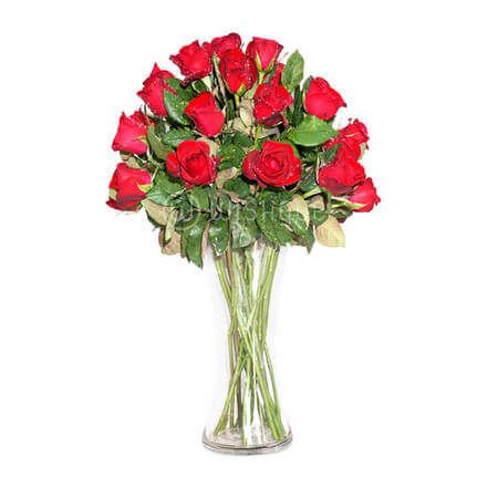 Sweetheart Rose Vase