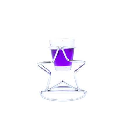 Star  Shape Scented Candle Purple