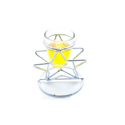 Star Shape Scented Candle Yellow