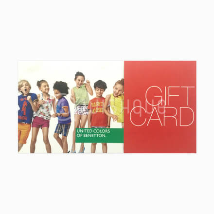 United Colors of Benetton Gift Voucher Rs.1500