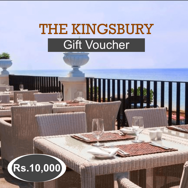 Kingsbury Hotel Gift Voucher Rs.10000