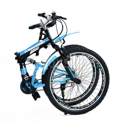Tomahawk 26''-Inch 18 Speed Folding Bicycle