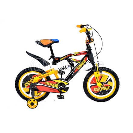 Tomahawk 12''/16''/20'' Inches BMX Suspension Bicycle (PILOT)
