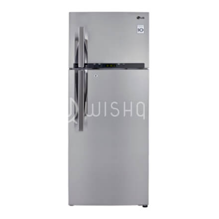 LG-REFRIGERATOR INVERTER 360L-SHINEY STEEL-GL-M412RLDL