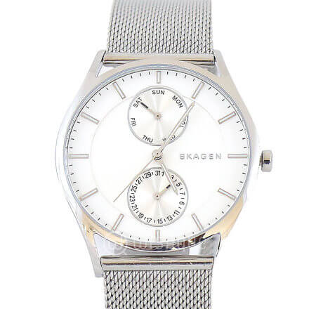 SKAGEN Holst Stainless Steel Men's Watch & Cufflink SKW1065