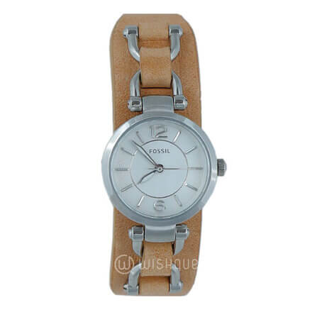 FOSSIL Georgia Artisan Leather Women's Watch ES3854