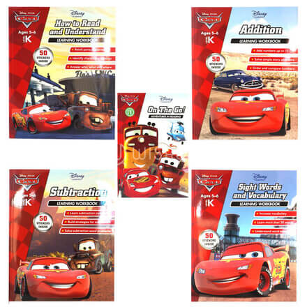 Disney Cars -How to Read and Understand Learning Workbook