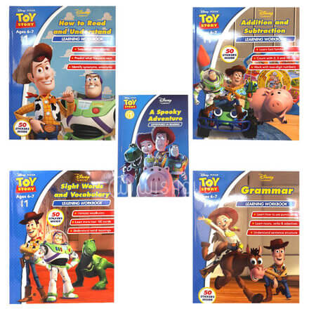 Disney Toy Story - How to Read and Understand Learning Workbook
