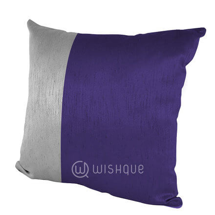 Silver Stripe Cushion