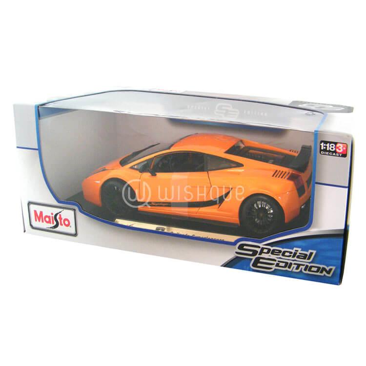 Lamborghini Gallardo Superleggera Orange