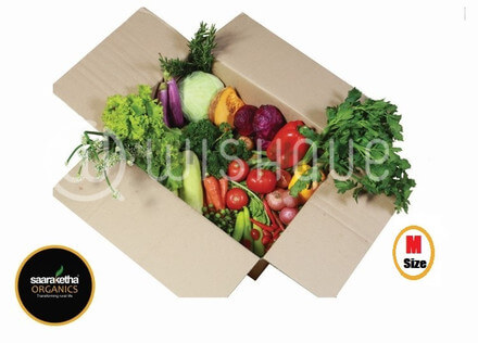 Organic Vegetable Box- Medium 01