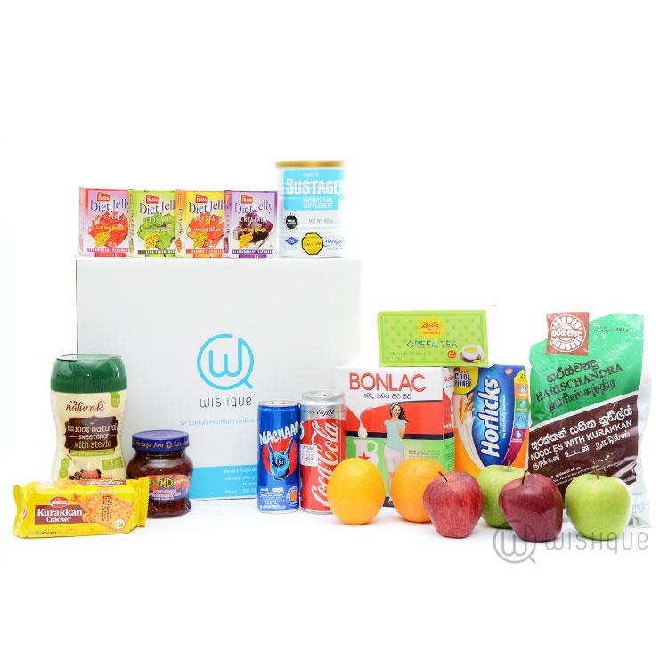 Sugar free hamper wishque sri lankas premium online shop send sugar free hamper negle Gallery