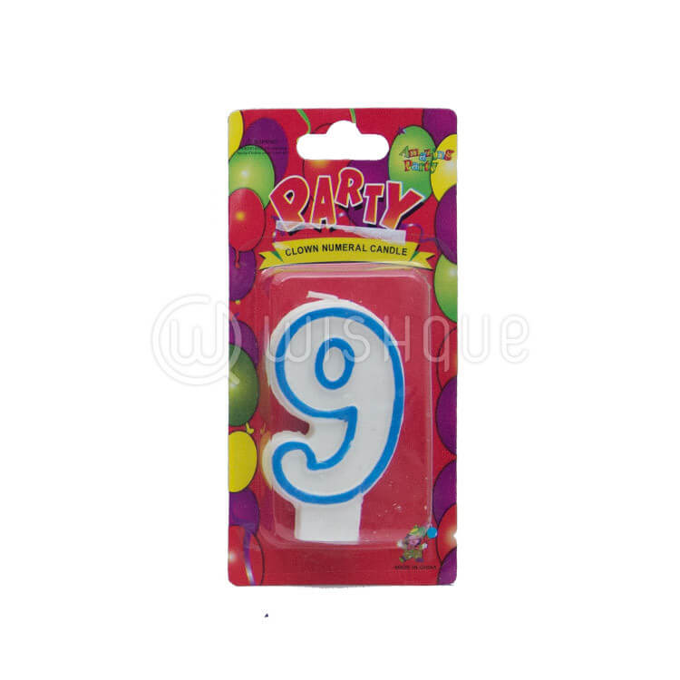 "Number ""9"" Candle"