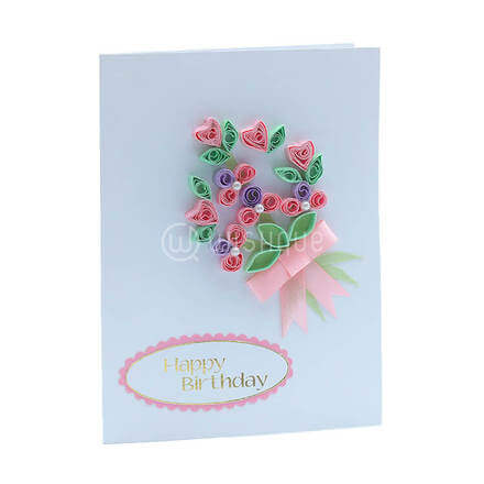 Birthday Blossom Card
