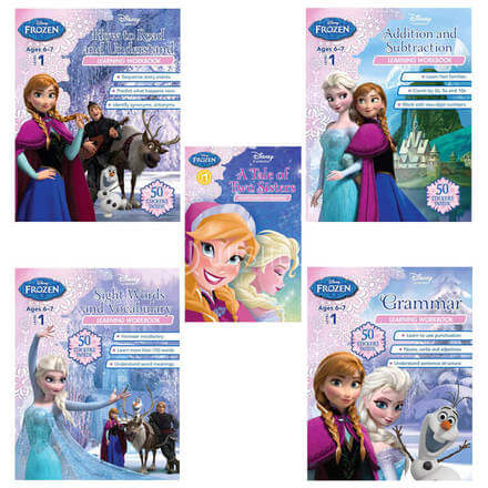 Frozen: How To Read And Understand Learning Workbook