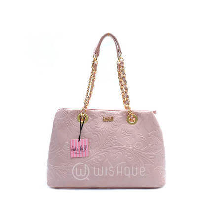 Kate Hill Myah Embossed TOTE S16 Pink
