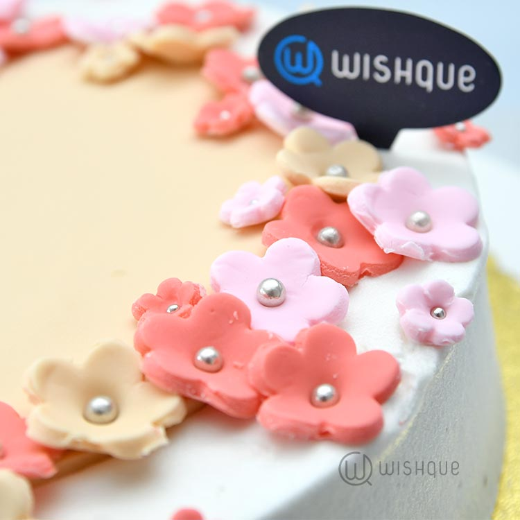 Forget Me Not Buttercream Cake