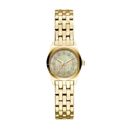Armani Exchange Women's  Gold Watch