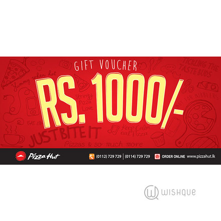 Pizza Hut Gift Voucher