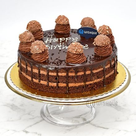 Ferrero Chocolate Cake