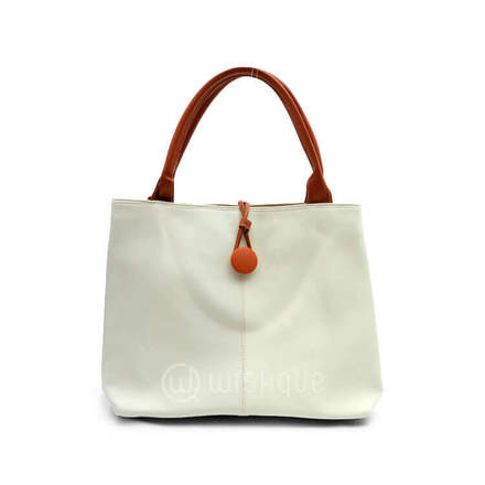 Imported Handbag - Beige