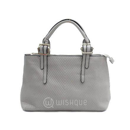 Bibigi Light Gray Handbag