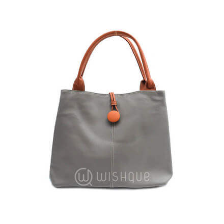 Imported Handbag  - Gray