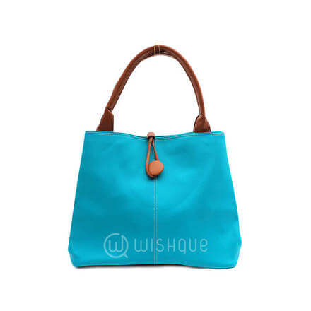 Imported Handbag - Sky Blue