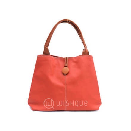 Imported Handbag  - Orange