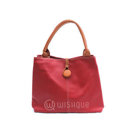 Imported Handbag - Red