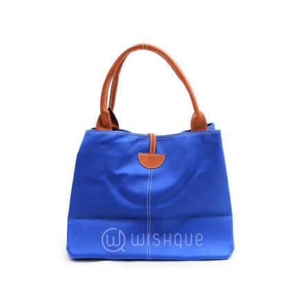 Imported Handbag - Blue