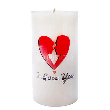 Kisses Of Love Candle
