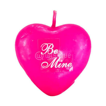 Be Mine Heart Candle