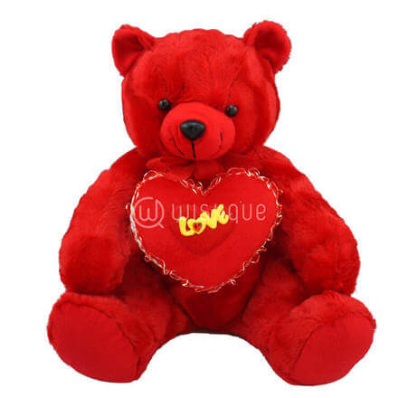 Radiant Red Teddy