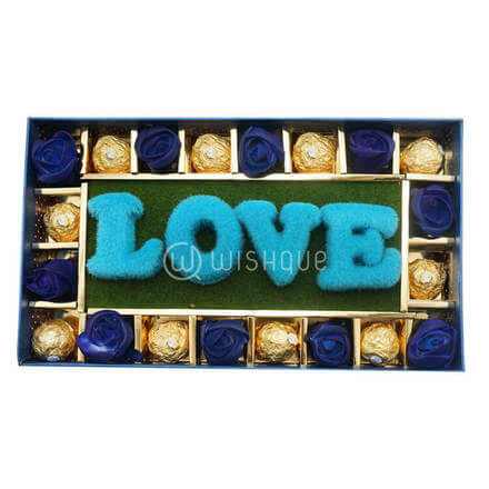 Blue Love Chocos