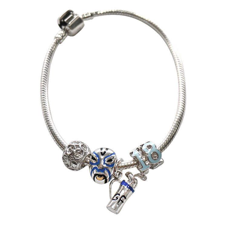 Tizzy 18th Birthday Charm Bracelet