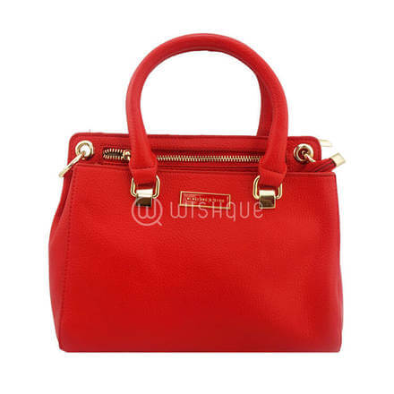 Menglong & QIYU Handbag - Red
