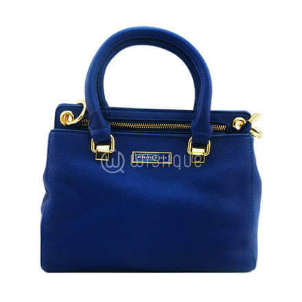 Menglong & QIYU Handbag - Blue