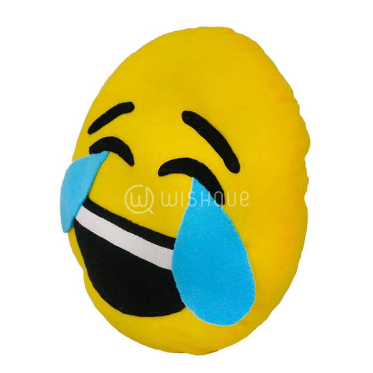 happy crying face emoji pillow wishque sri lankas