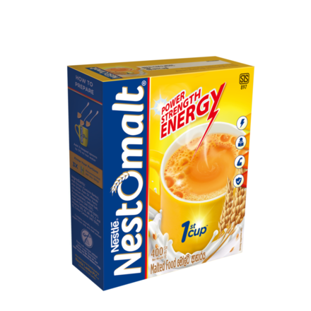 Nestle NESTOMALT  400g Bag in Box