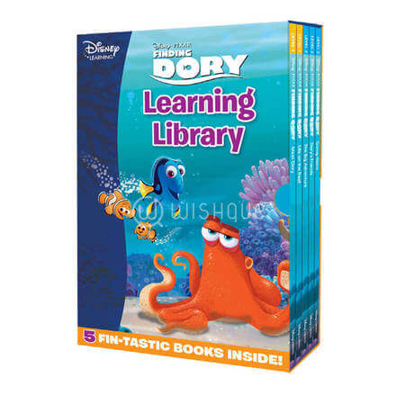 Finding Dory learning library book set