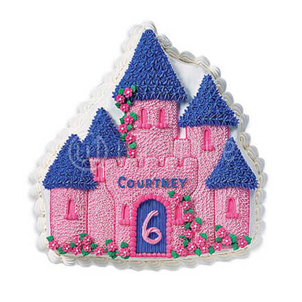 Enchanted Castle Cake