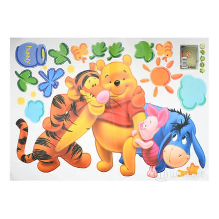 Pooh Tree Animal Cartoon Wall stickers